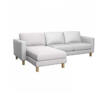 Ikea Karlstad Sectional Sofa w/ Chaise