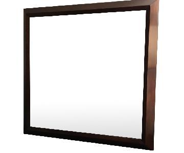 Bernhardt Square Patterned Mirror