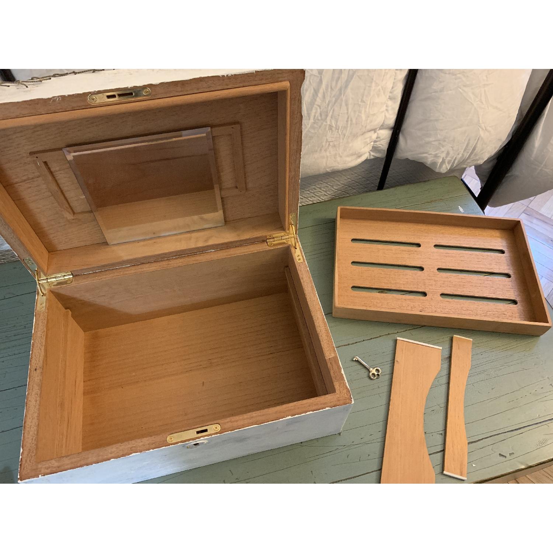 Shabby Chic Cigar/Jewelry Box-5