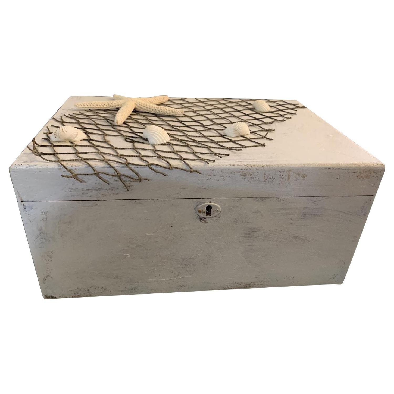 Shabby Chic Cigar/Jewelry Box