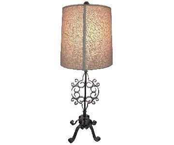 Home Goods Vintage Cutout Lamp