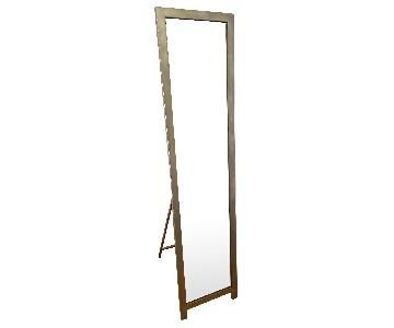 Full-Length Mirror w/ Metal Frame/Stand