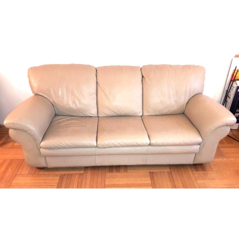 Macy S Leather Queen Sleeper Sofa Aptdeco