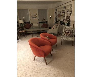 West Elm Mid-Century Accent Chairs