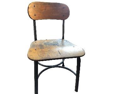 Antique Child's School Chair