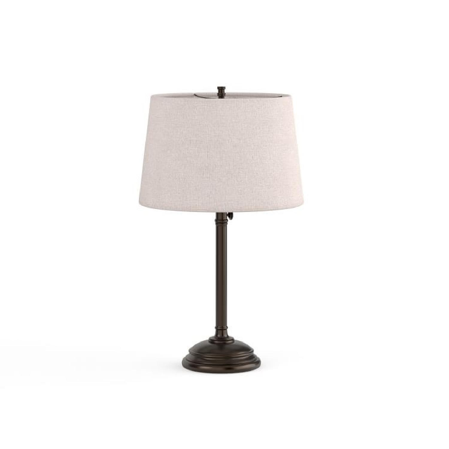 Pottery Barn Chelsea Adjustable Lamps