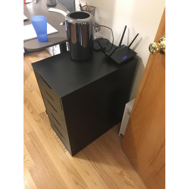 Ikea Alex Black Drawer Unit-1