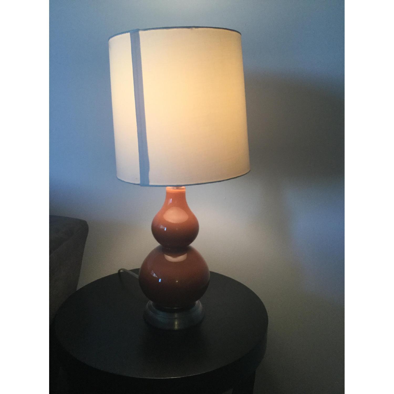 Orange Double Gourd Table Lamp-0