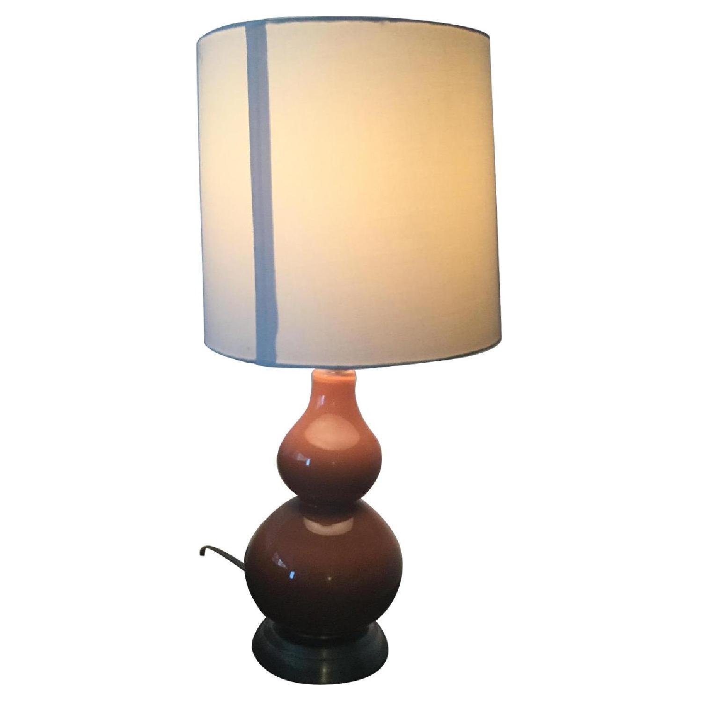 Orange Double Gourd Table Lamp-3