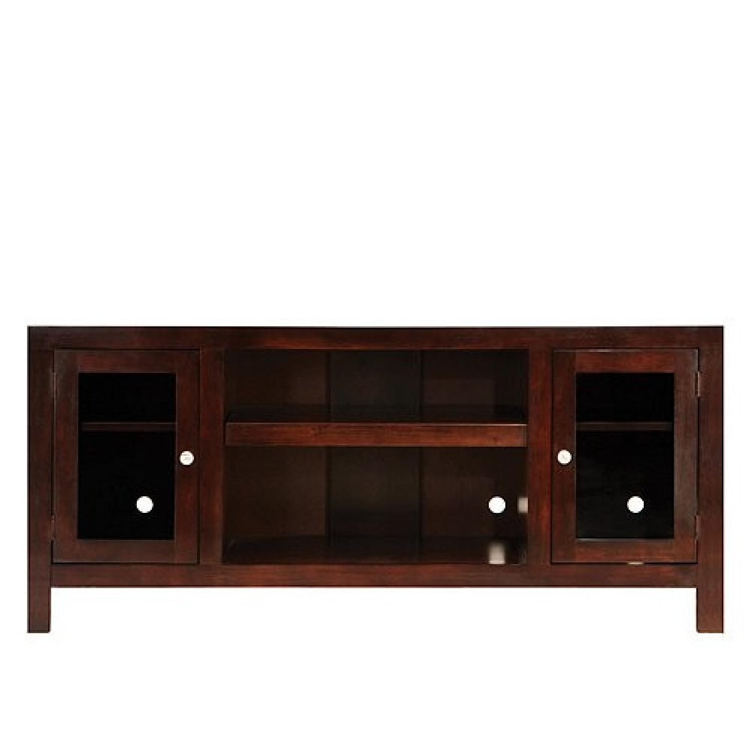 Raymour & Flanigan Delmar Chocolate Media Console