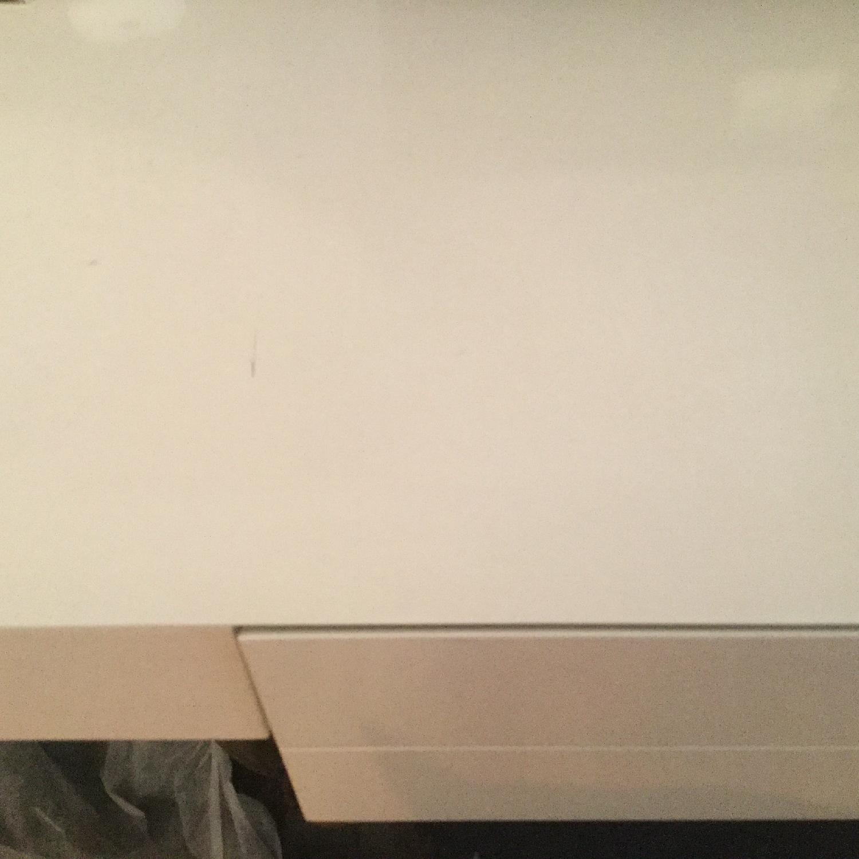 CB2 White Lacquer Desk/Vanity-3