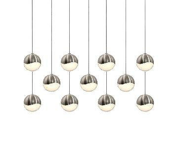 11 Orbe Grape Sonneman Pendant Light