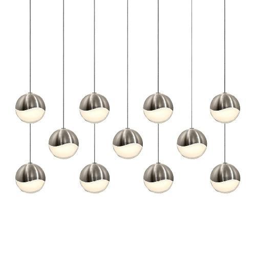 Used 11 Orbe Grape Sonneman Pendant Light for sale on AptDeco