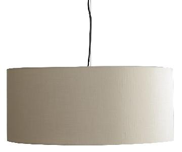Crate & Barrel Finley Large Wheat Pendant Light