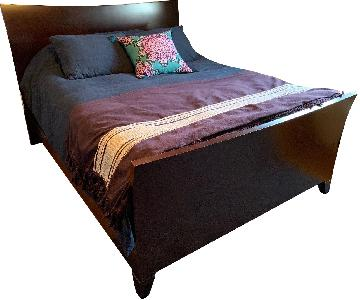 Pottery Barn Modern Sleigh-Style Bed