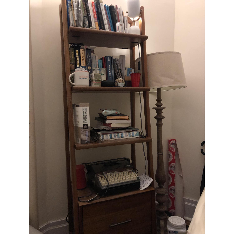 West Elm Mid-Century Bookshelves in Acorn-0
