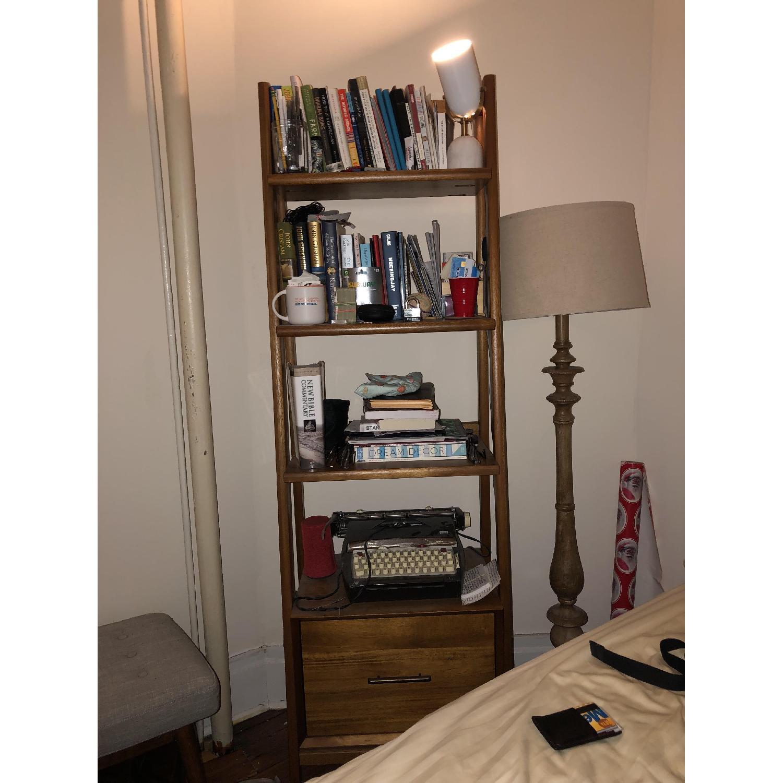 West Elm Mid-Century Bookshelves in Acorn-1