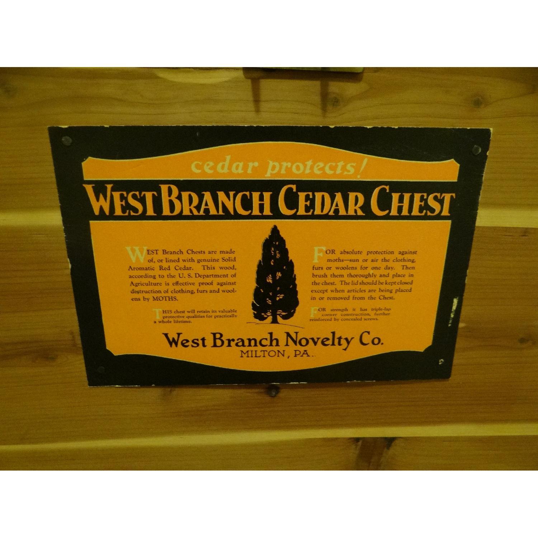 West Branch Cedar Hope Chest-6