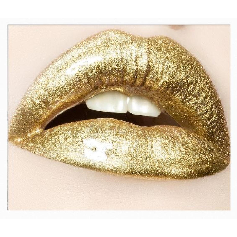 Herve Dunoyer Gold Lips