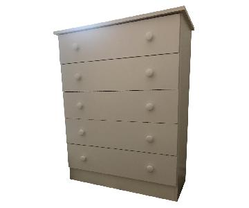 Contemporary Five-Drawer Chest