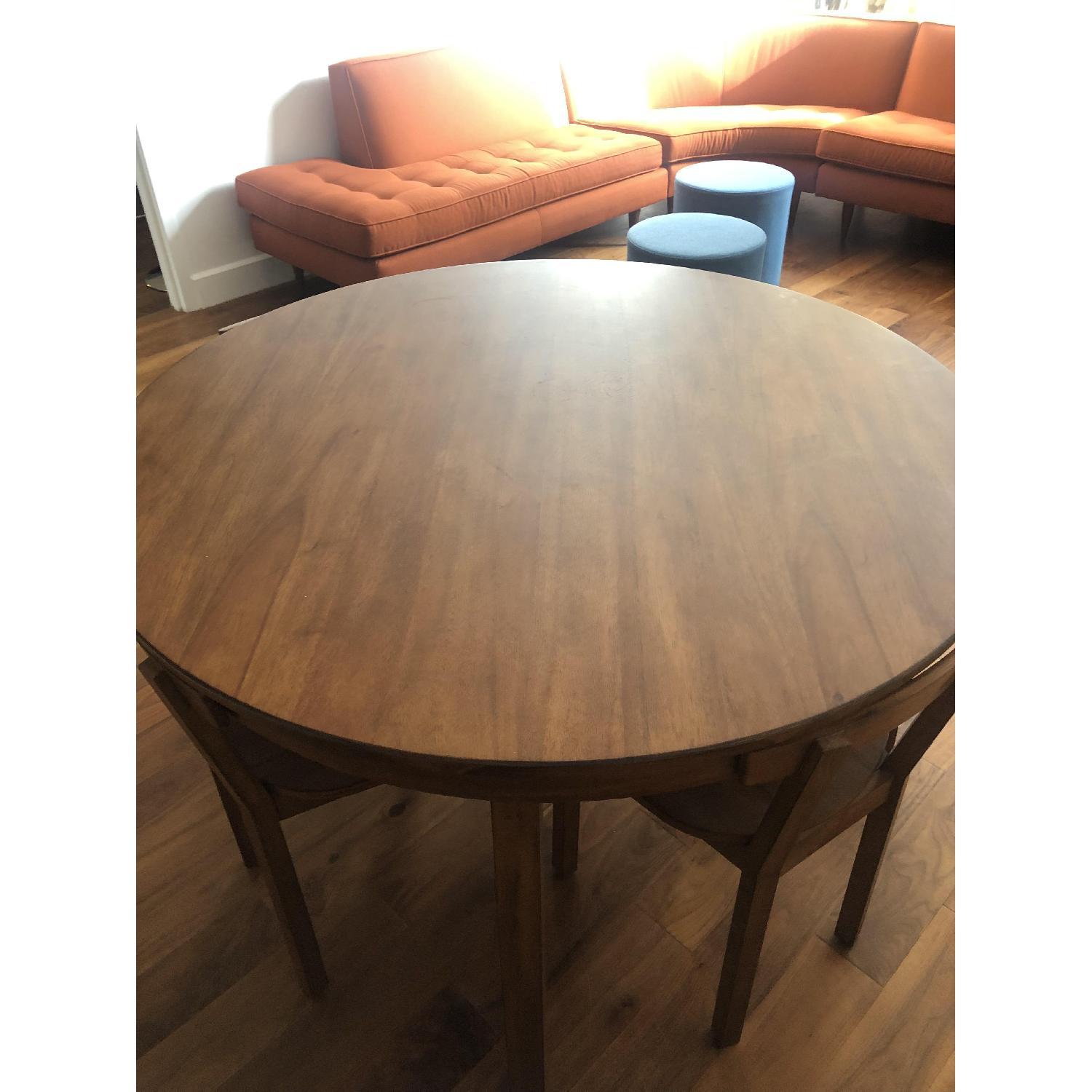 CB2 Claremont Round Wood Dining Table-0