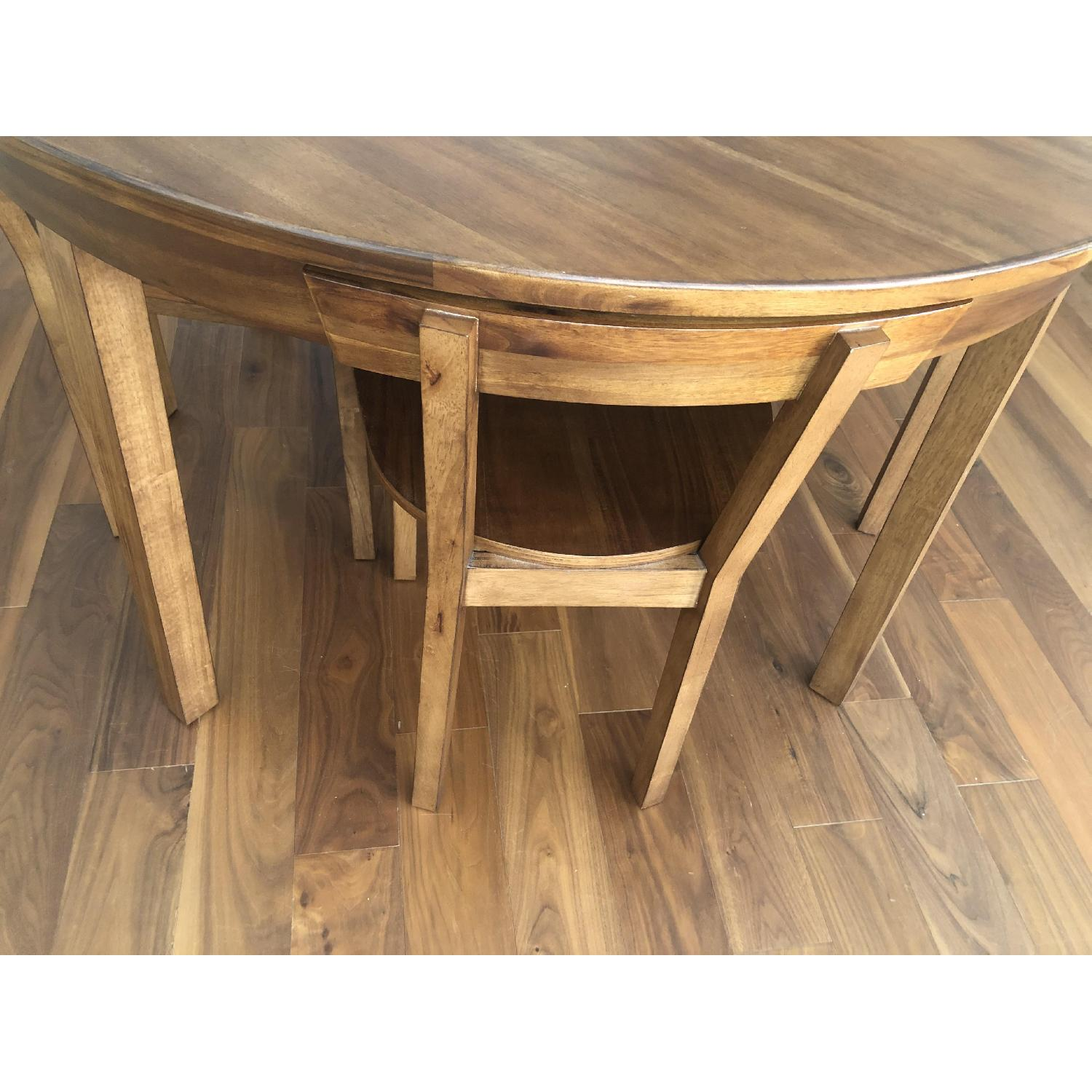 CB2 Claremont Round Wood Dining Table-2