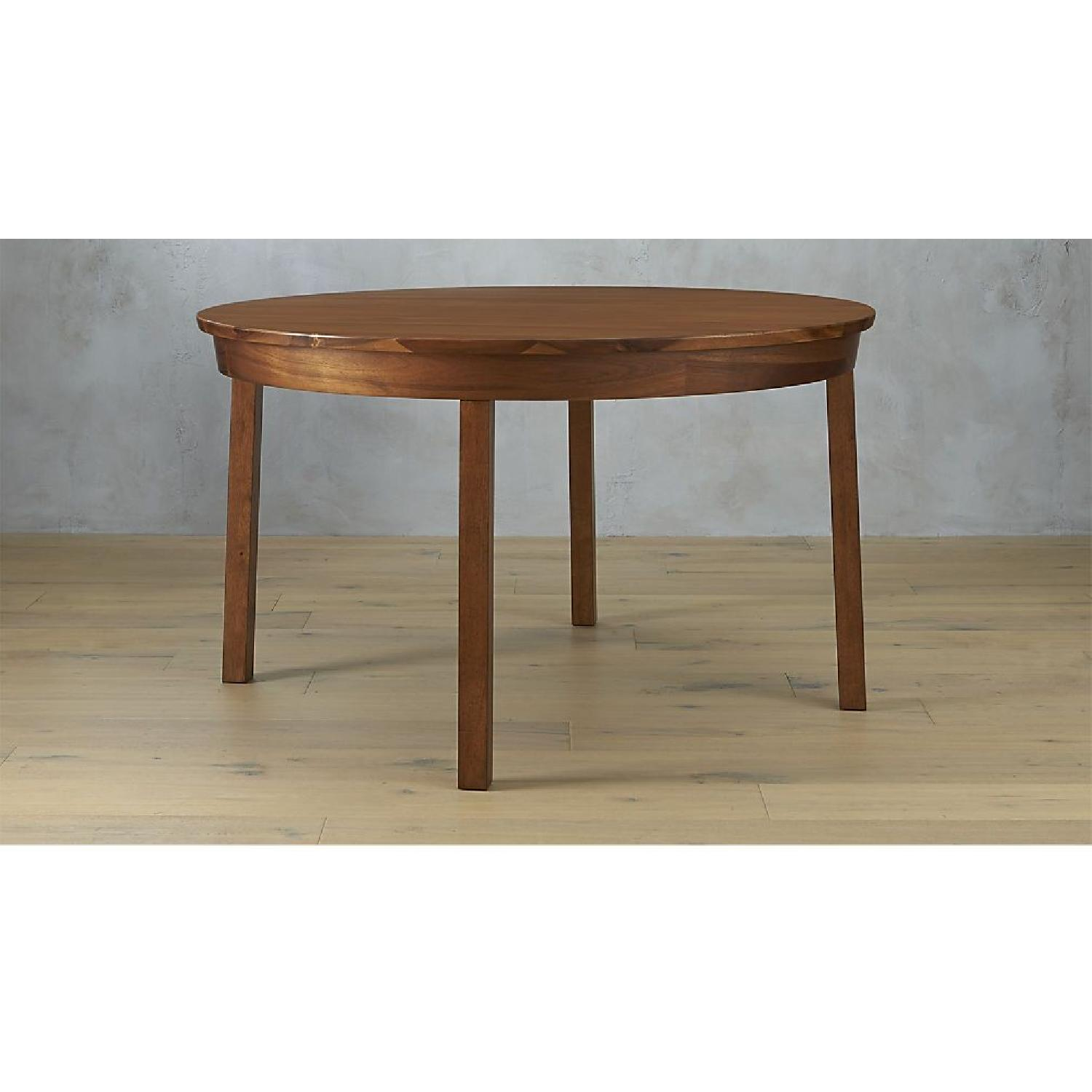 CB2 Claremont Round Wood Dining Table-3