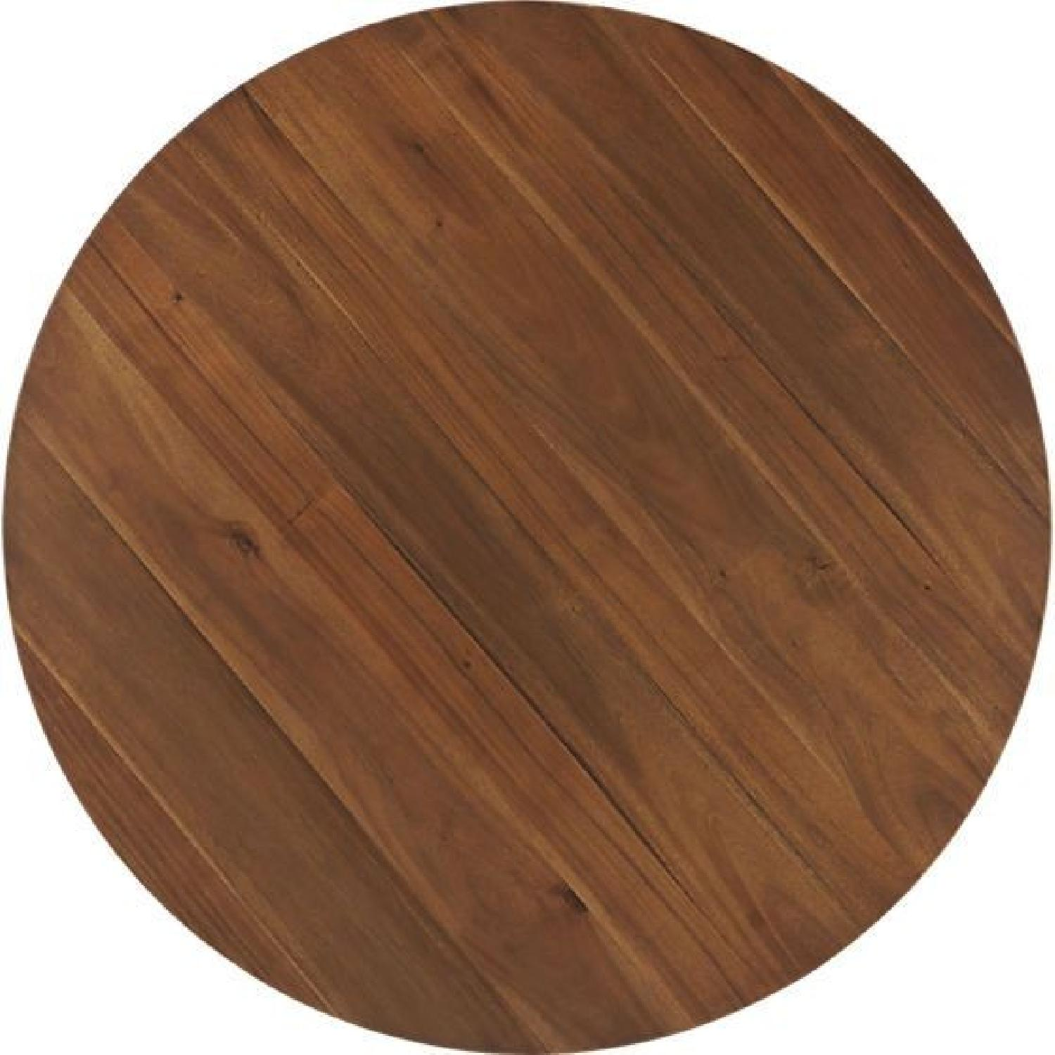 CB2 Claremont Round Wood Dining Table-4
