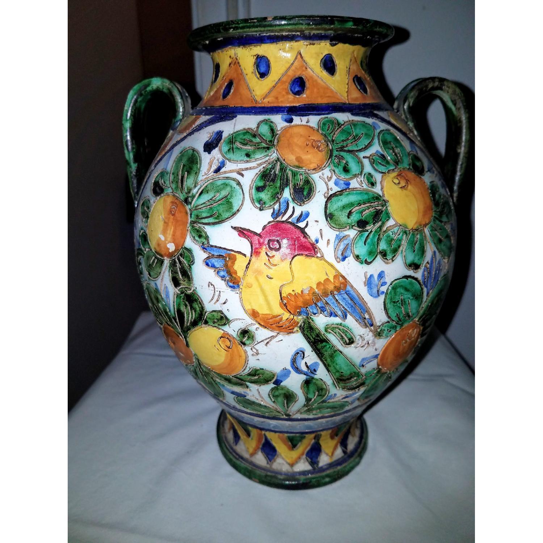 Vase Multi Color w/ Birds-0