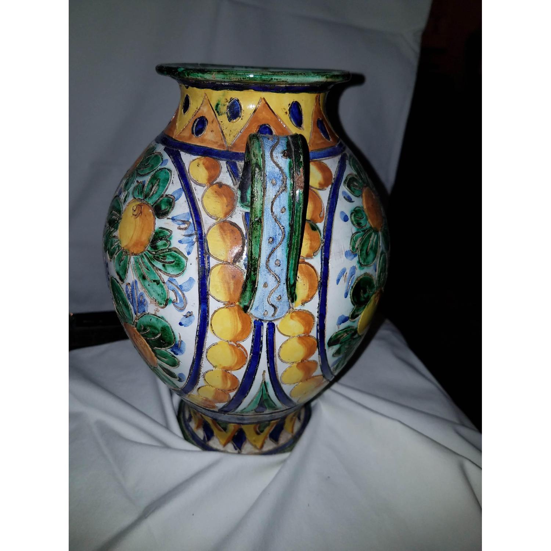 Vase Multi Color w/ Birds-1