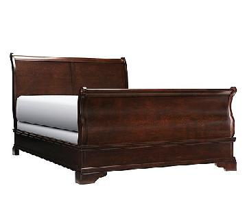 Raymour & Flanigan Charleston King Size Sleigh Bed