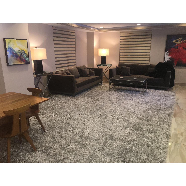 ABC Carpet and Home Silk Shrug Large Area Rug-0
