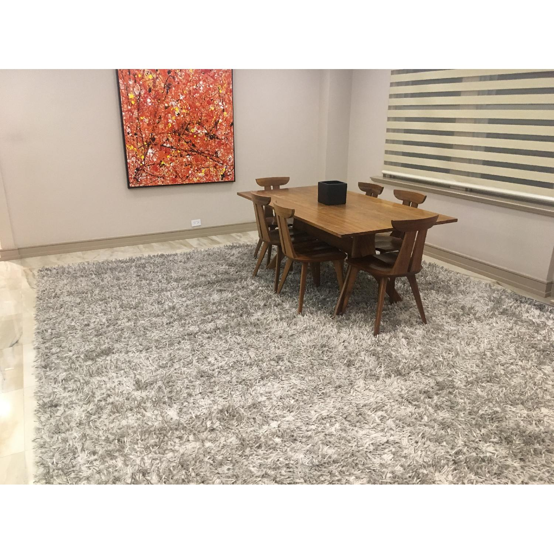 ABC Carpet and Home Silk Shrug Large Area Rug-1