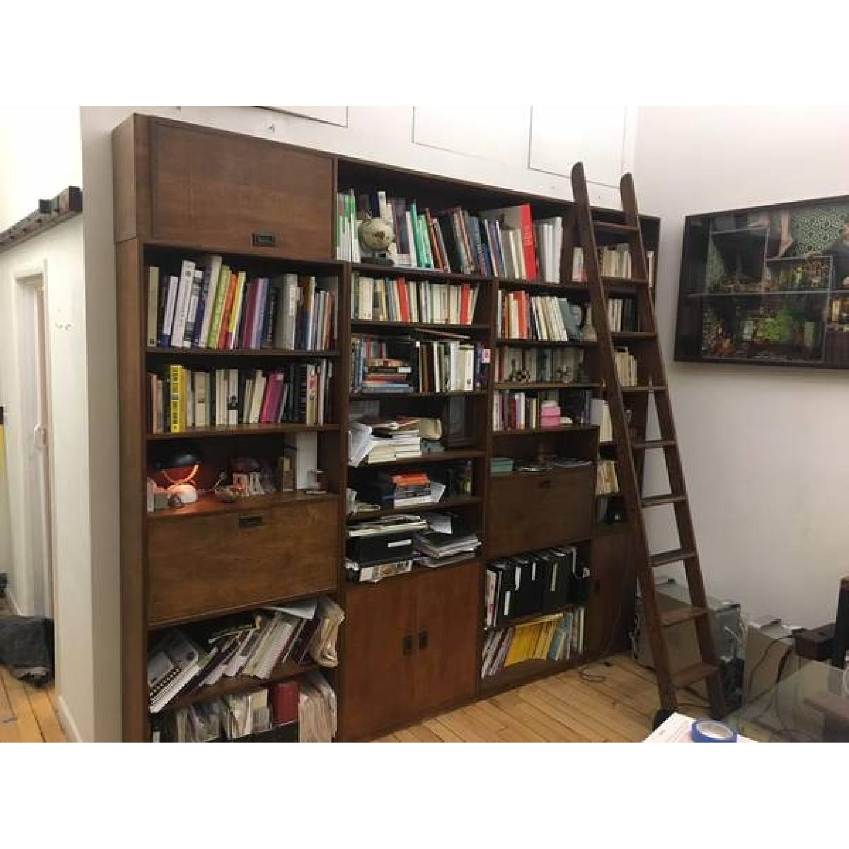 Renovated Maple Wood Modular Bookcase-0