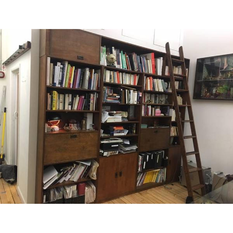 Renovated Maple Wood Modular Bookcase-1