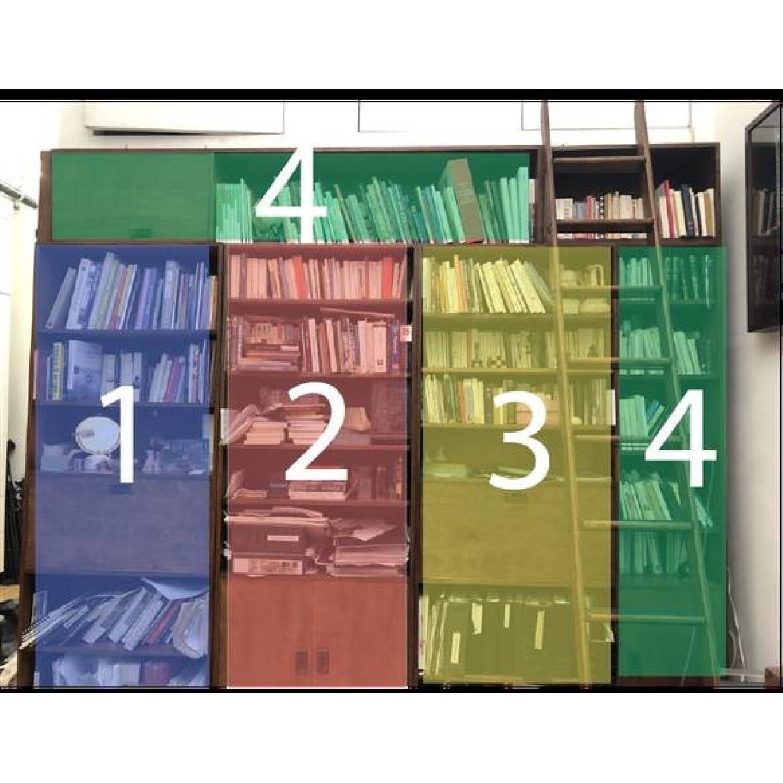 Renovated Maple Wood Modular Bookcase-4