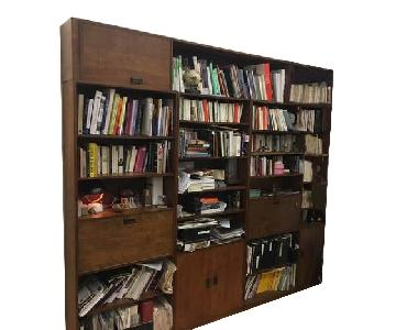 Renovated Maple Wood Modular Bookcase