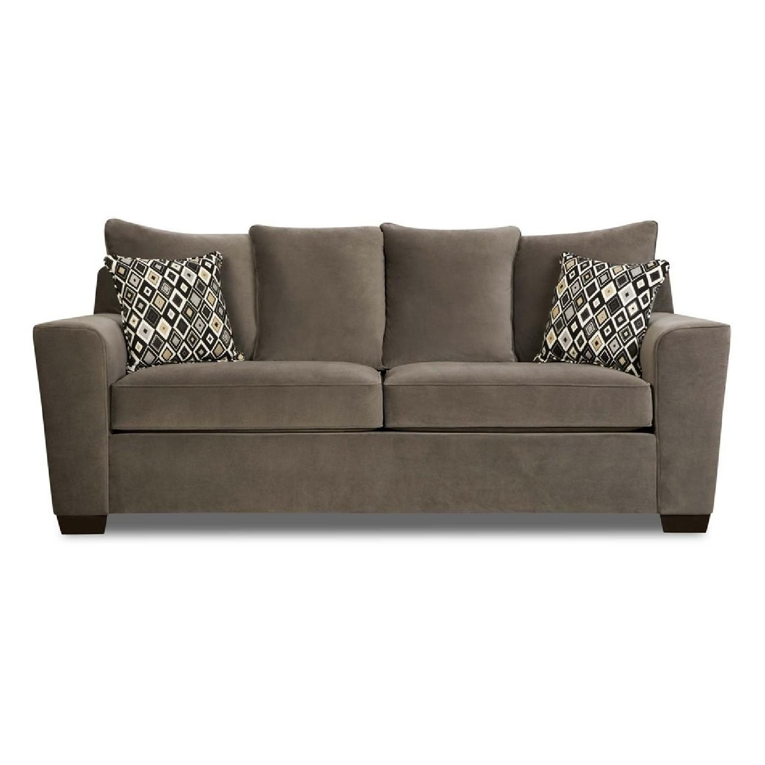 Jennifer Convertibles Bianca Gray Sleeper Sofa