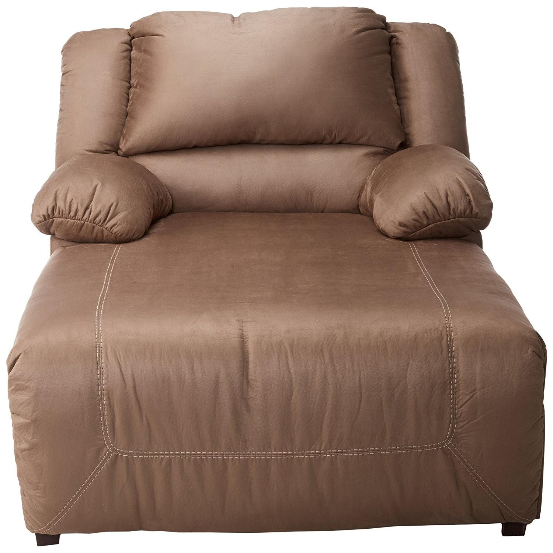 Ashley Hopkins Pressback Chaise in Mocha