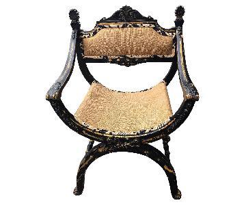 Antique 1930s Renaissance Style Chair