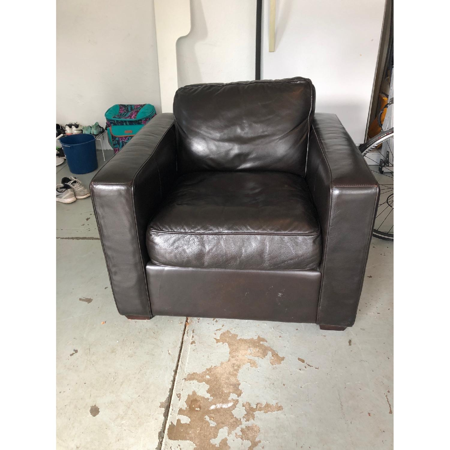 Room & Board Ian Leather Chair-0