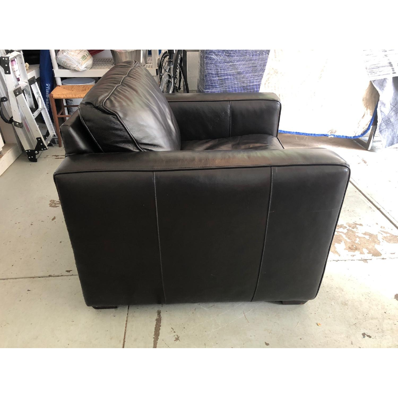 Room & Board Ian Leather Chair-1
