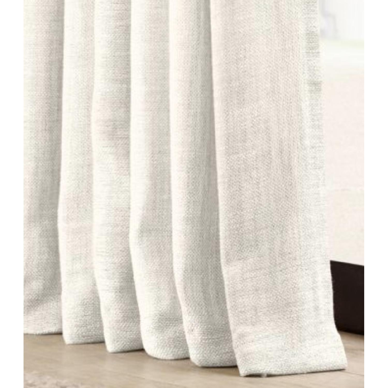 Restoration Hardware Natural Belgian Linen Drapes-1
