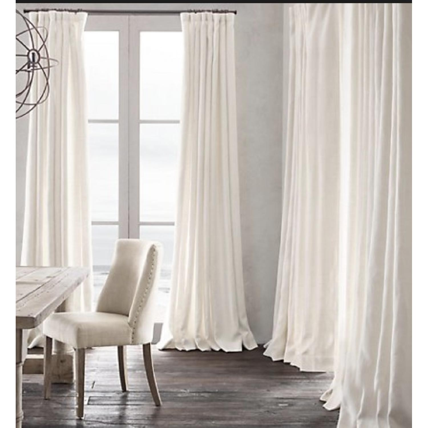 Restoration Hardware Natural Belgian Linen Drapes-2