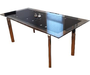 Sliding Extendable Dining Table