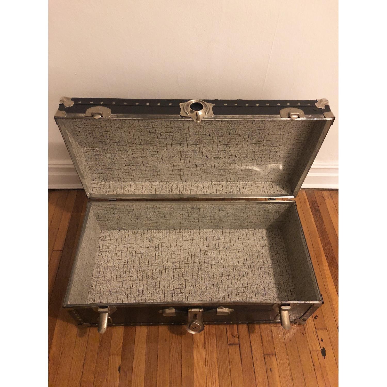 Antique Trunk w/ Lock & Key-1