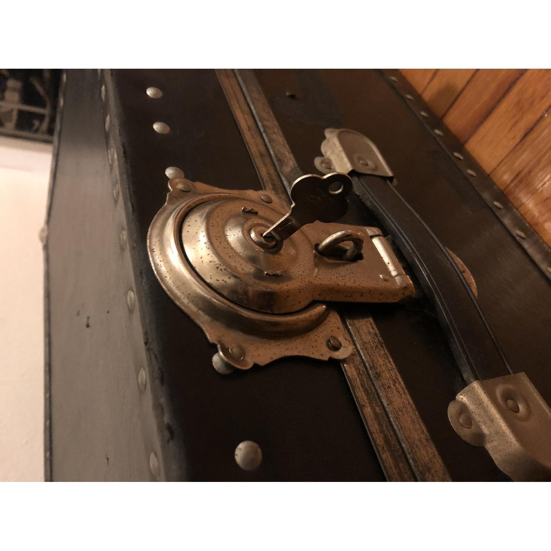 Antique Trunk w/ Lock & Key-5