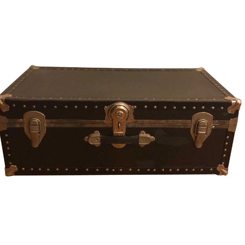 Antique Trunk w/ Lock & Key