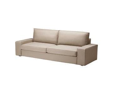 Ikea Kivik Sleeper Sofa w/ Storage & Ottoman