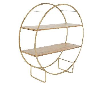 Urban Outfitters Brigid Circle Shelf